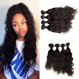 Brazilian Hair Weave Bundles Unprocessed Virgin Brazillian Water Wave Remy Human Hair Extensions Soft Full G-EASY