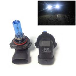 2pcs 12V 55W 9005 Ultra-white Xenon HID Halogen Auto Car Headlights Bulbs Lamp Auto Parts Car Light Source Accessories