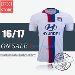 Wholesale Thai version of the quality Lyon soccer Jerseys Lyonnais football Lacazette Gourcuff Fekir Olympique home and Lyon Jerseys