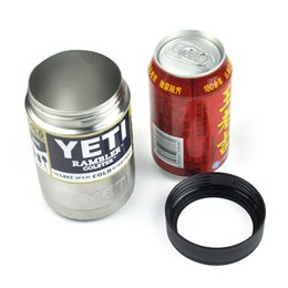 Wholesale best YETI cup coolers oz Colsters Stainless Steel Insulation Cups Rambler Tumbler cup coffee mug W LID Cars Beer Tumblerful