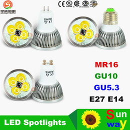 50% Sale Off + 9W 12W 15W Led Spot Bulbs Light E27 E26 B22 MR16 GU10 Led Dimmable Lights Lamp AC 110-240V 12V