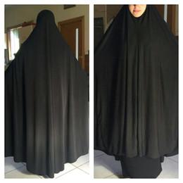 Wholesale Maxi Muslim prayer clothing Ladies Hijab Abaya Prayer Dresses Islamic Clothing Khimar Jilbab Free Fast Shipping QK017