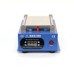 New Arrival Built-in Vacuum Pump LCD Separator Machine For iPhone Samsung Repair Refurbish with free 100m cutting wire