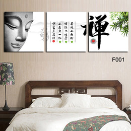 Wholesale High Quality Hand painted Group Oil picture print on canvas Panel Wall Art Religion Buddha Painting No Frame2