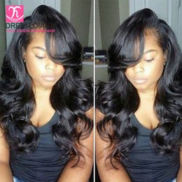 8a brazilian hair Brazilian body wave bundles with closure body wave weft with weaves closure human hair closure