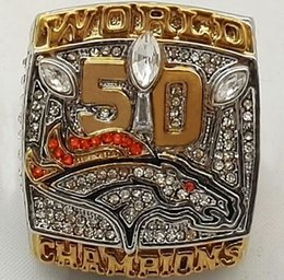 Wholesale Denver Broncos Super Bowl Replica championship rings for man ring as best ring