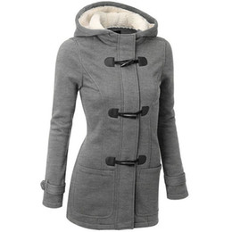 Wholesale New Women Outerwear Jacket Hooded Single breasted Cashmere Coat Stand Collar Sweater Coat women Wool Overcoat