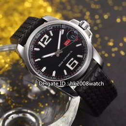 Wholesale New Luxury High Quality Racing Miglia GT XL Chrono Automatic Gents Watch Black Dial Rubber Strap Mens Best Watches CD21