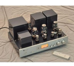 Wholesale Brand New MUZISHARE X B Vacuum Tube Amplifier Dual Rectifier Single Ended Class A Amplifier Merge Multicenter Hifi Tube AMP