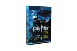 Wholesale Harry Potter Blu ray Complete movies Disc Set US Version Boxset New WM