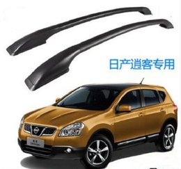 Wholesale High quality aluminum alloy Luggage roof rack roofrack crossbar luggage stack Max bear KG for Nissan Qashqai