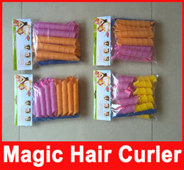 Wholesale Amazing Magic Leverag Hair Curlers Curlformers Hair Roller Hair Styling cm cm cm cm long Tools