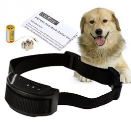 Wholesale New Arrival Anti Bark Stop Controller No Barking Remote Electric Shock Vibration Dog Pet Training Collar