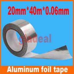 Wholesale mm m mm Industry BGA Aluminum Foil Tape Adhesive Heat Conduction Shielding Cellphone LCD Computer electric Repair