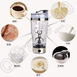 Wholesale 24pcs CA4420 Electric Protein Shaker Blender My Water Bottle Automatic Mixer Movement Vortex Tornado ml Bpa Free Detachable Mixer Cup