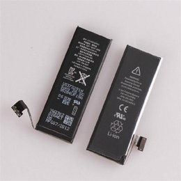 Wholesale 100 Original Replacement Built in Battery For iphone S C mAh V for iphone C S mAh V Battery Batterie