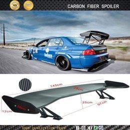 Wholesale Universal Carbon Fiber Car Spoiler D Car Rear Spoiler Wings cm Long