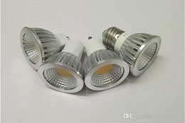 Factory Vente chaude de gros prix Dimmable GU10 E27 MR16 E14 5W COB LED Lumière économiseur d'énergie projecteur Bulbes chaud blanc blanc froid à partir de mr16 blanc chaud torchis 5w fournisseurs