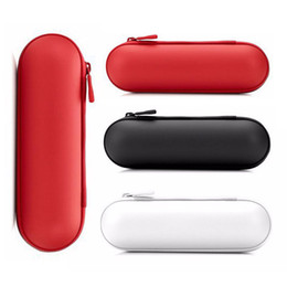 Pill Wireless Bluetooth Speakers pill audio player travelling case carrying bag leather case pouch bags three colors
