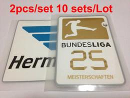 wholesale 2016-2017 BundesLiga patch 25 Meisterschaften soccer Badges 10 Set Lot free shipping !