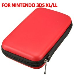 Jeux 3ds xl en Ligne-2016 Hot Sale EVA Protector Hard Case Hard Bag 3DS Game Card Shell 3 couleurs pour Nintendo 3DS XL / LL