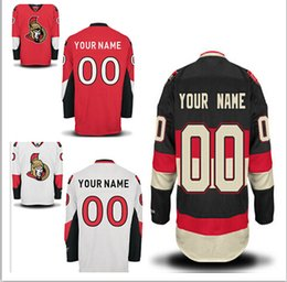PPersonalized Men's Ottawa Senators Custom Hockey Premier Jerseys High Quality & Stitched Custom Any Name & Number JERSEYS
