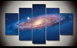 The vastness of the Milky Way Surprisingly wall canvas arts for home decor unframed modern wall art pictures for living room