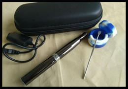 Combo Micro Pen Wax Herb & Oil Vaporizer Set puffco electronic oil smoking pen puffit smoking wax e solid burning device 2016