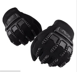 Wholesale New seal men s outdoor sports non slip anti wear warm air permeability tactical riding personality sports mountain bike gloves