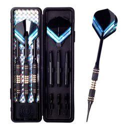 Wholesale D229 g g Tip Soft Darts Needle Aluminum Dart Shaft black Dart Flights Throwing Toy