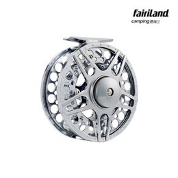 Wholesale 7 mm in BB METAL fly fishing reel PRECISION MACHINED fly reel from BAR STOCK ALUMINUM w INCOMING CLICK ice fishing wheel