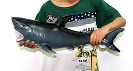 Large Software Protection Tangjiao Toy Animal Shark Marine Simulation Model 50Cm Best Gift for Kids