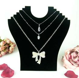 Human model necklace display shelf jewelry organizer jewelry holder stand for jewelry rack wholesale