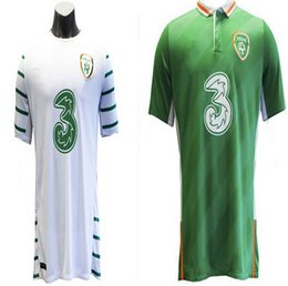 Wholesale Benwon Republic of Ireland soccer jersey Ireland away white shirt home green jerseys shirts top thai quality t shirt