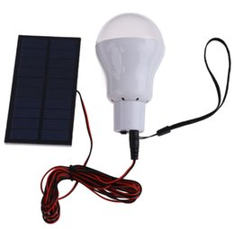 Portable solar power LED bulb outdoor camp tent fishing tent LED  free shipping