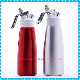 Wholesale 2016 Economic ml Aluminium Alloy Cream Whipper For g Chargers N2O whip Milk Frother