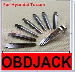 Folding key blanks For Hyundai Tucson Car key embryo replacing the key head NO.36