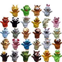 Wholesale Hot NEW styles Big Hand Puppets Plush Toy Glove Dolls Animal Talking Props Puppet Toy