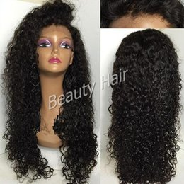 deep curly wig full lace human hair wigs for black women glueless lace front wig