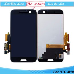 Wholesale for HTC One M10 Lifestyle LCD Display Touch Screen Digitizer Assembly Replacement Repair Parts AAA Grade Quality DHL