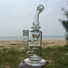 Wholesale 2016 August classic Klein glass bongs water Torus bong water pipe recycler oil rigs hookahs joint size mm dab rigs ES GB