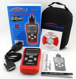 Wholesale New KW807 GS500 OBD II Car Diagnostic Tool Car Fault Reader Scanner Tool Vehicle Fault Code Reader Computer Vehicle Fault Code Reader Scan