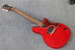 Fabricant de guitare de Chine Fournisseur direct Nouvel arrivage Modèle de studio de guitare électrique rouge En stock, Livraison gratuite à partir de china stock guitare fournisseurs