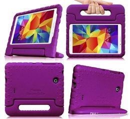 Wholesale Single Boxed Rose - Wholesale EVA Kid-Friendly Stand Case for Samsung Galaxy Tab 4 10.1 inch T700 T800 T350 T550 Shockproof 7 Colors With Retail-box