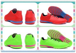 Wholesale New Product Popular Soccer Shoes Boots Men s men ACE TF Red Green Football Boots Sneakers Running Fashion Shoes Discount cheap