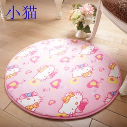 Wholesale 80cm Drawing room hall carpet table chair cushion women yoga exercise rugs footcloth
