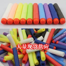 Wholesale Multicolor Nerf N strike Elite Rampage Retaliator Series Blasters Refill Clip Darts electric toy guns soft nerf bullet can be customized