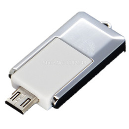 Wholesale-Free Shipping USB Micro TF OTG Card Reader for Android