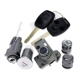 Wholesale Original Models Whole Locks Cylinders Set for Honda Accord With Keys applied directly to Honda Lock change directly Auto Tools Parts