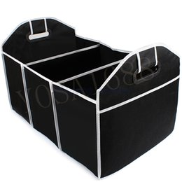 Wholesale Collapsible Car Trunk Organizer Toys Food Storage Truck Cargo Container Bags Box Car Stowing Tidying Auto Accessories Styling